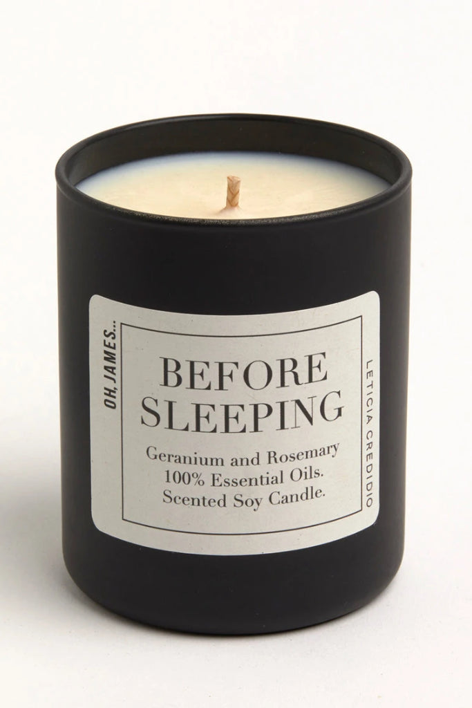 Before Sleeping Handmade Soy Wax & Essential Oil Candle