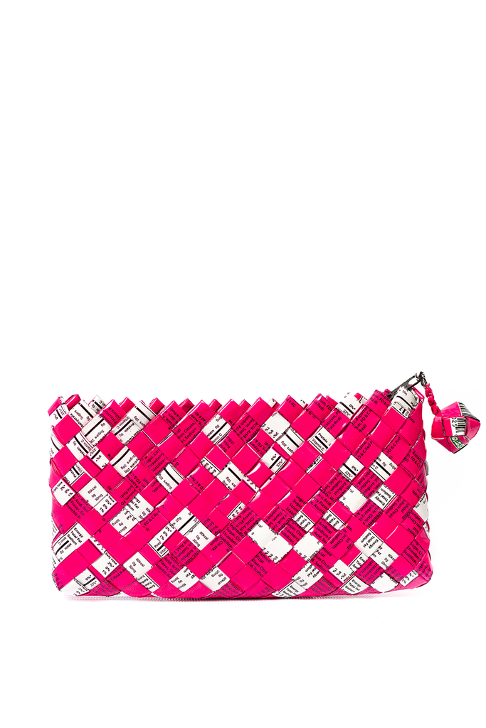 Artisan's Choice Mini Woven Clutch* - unique color