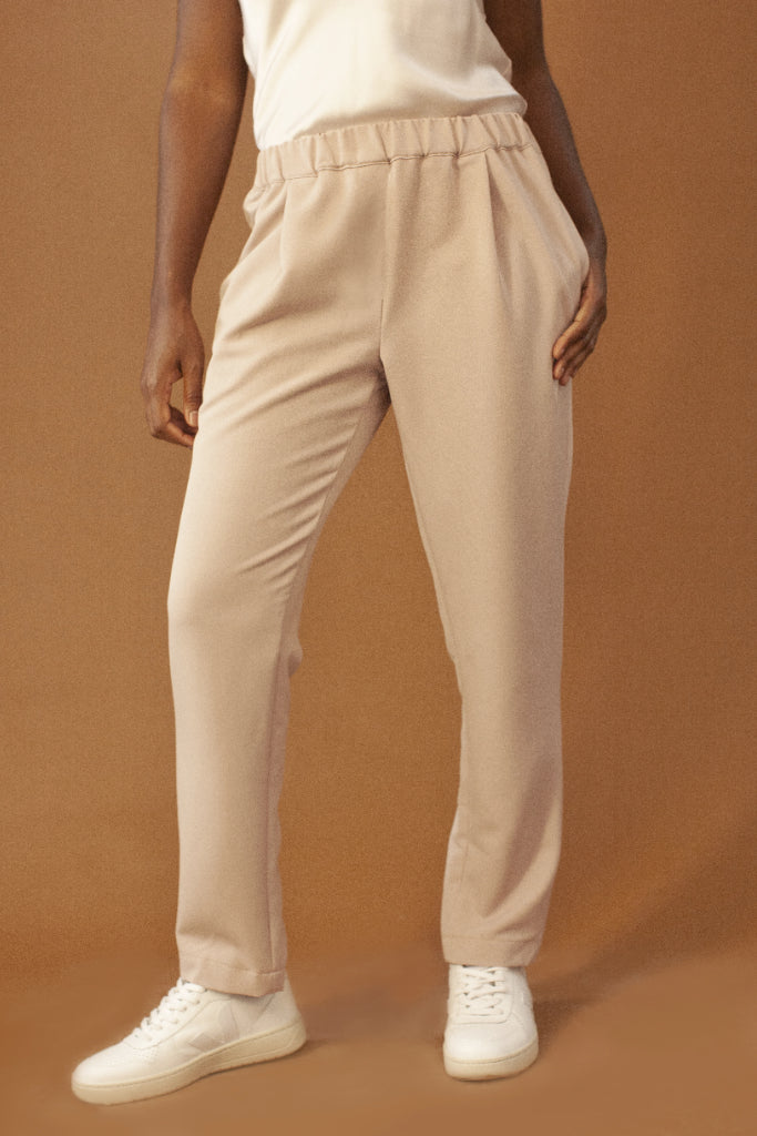 Sidney Ethical Viscose Trousers in Lilac
