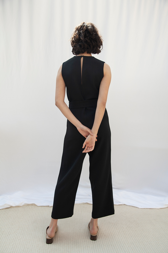 Soho Ethical Jumpsuit in Black
