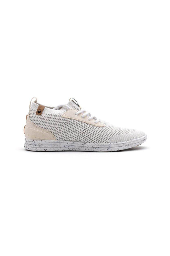 Women Mindo Recycled Sneakers in White