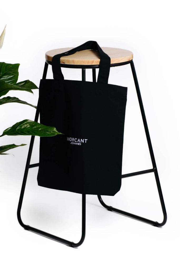 Essentials Organic Cotton Tote Bag in Black