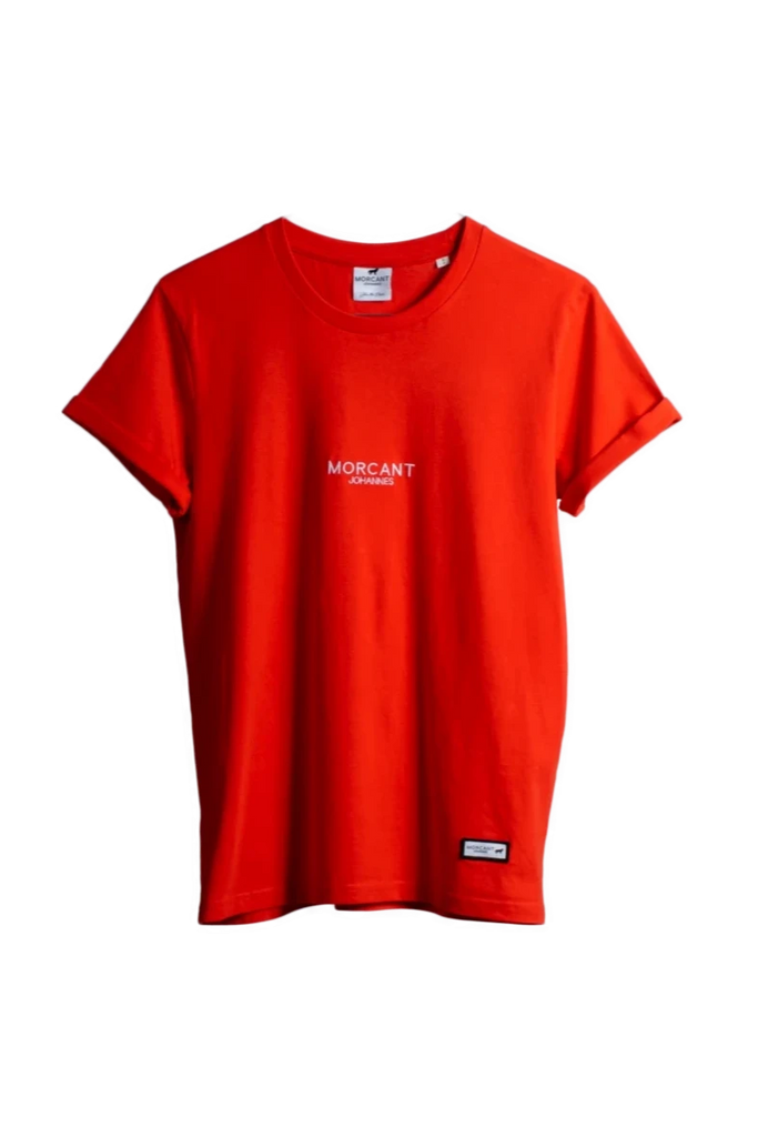 Organic Cotton T-Shirt in Red