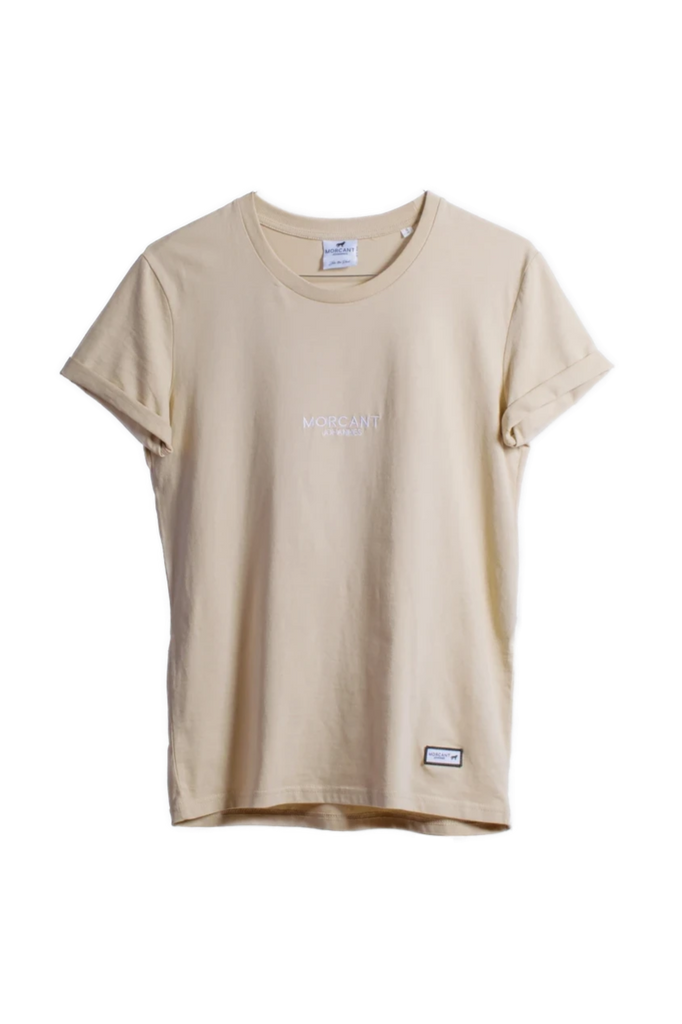 Organic Cotton T-Shirt in Sand
