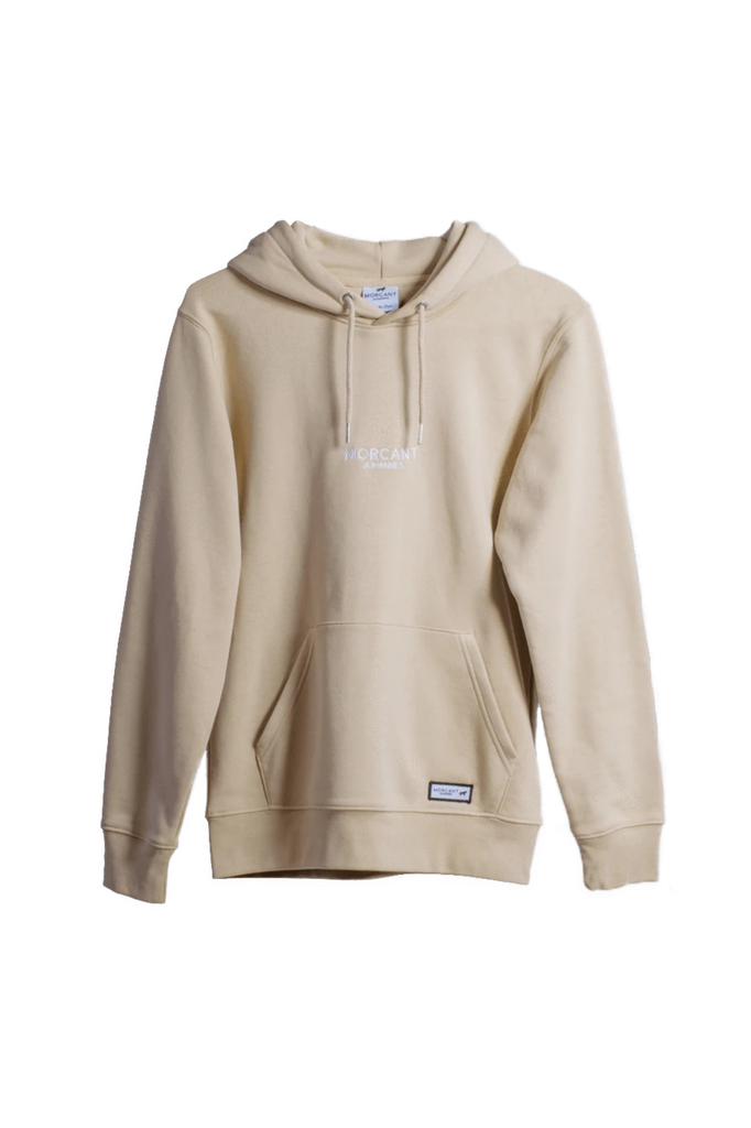 Organic Cotton Hoodie in Sand