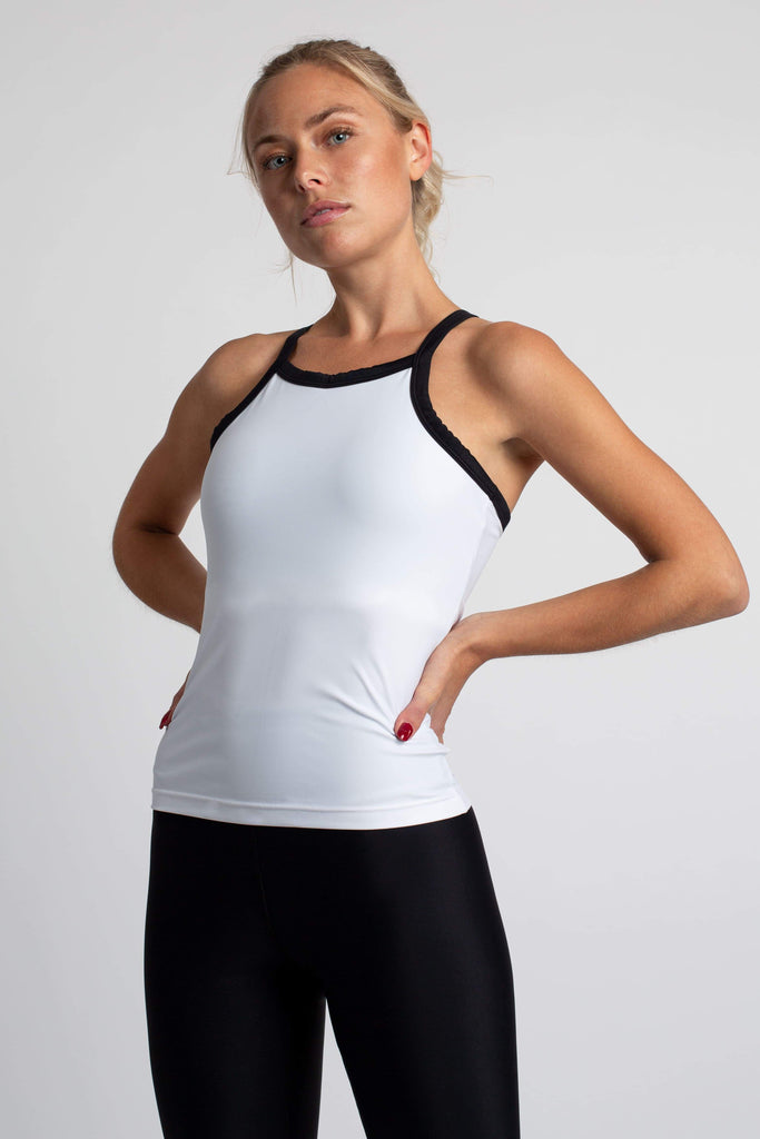 The Essential Regenerated Nylon Essential Sports Top in Different Colors