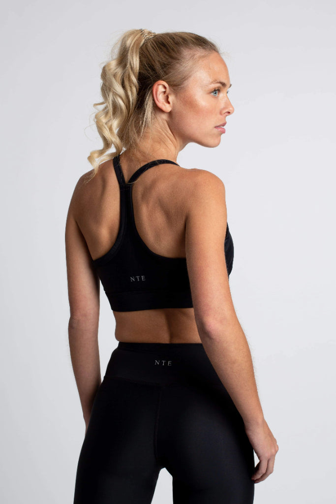 The Minimalistic Regenerated Nylon Sport Bra in Different Colors