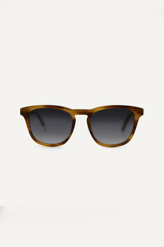 Nyota Walnut Ethical & Eco-Friendly Acetate Sunglasses in Brown