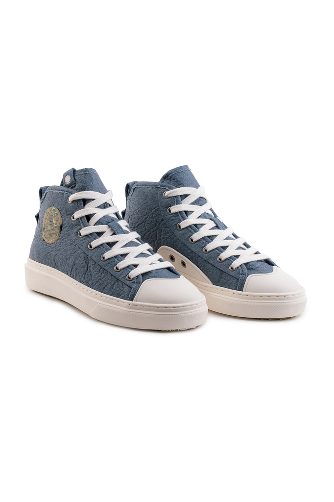 Wahoo Recycled Sneakers in Blue
