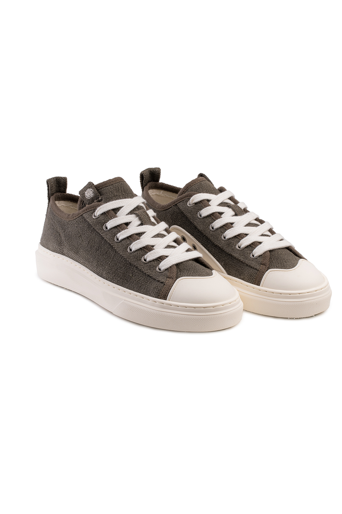 Pyropia Recycled Hemp Sneakers in Brown