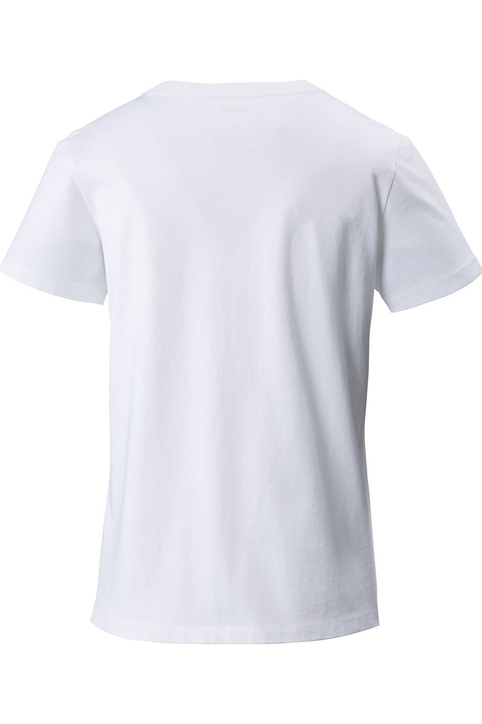 Rudi Walking Organic Cotton Classic T-Shirt in White