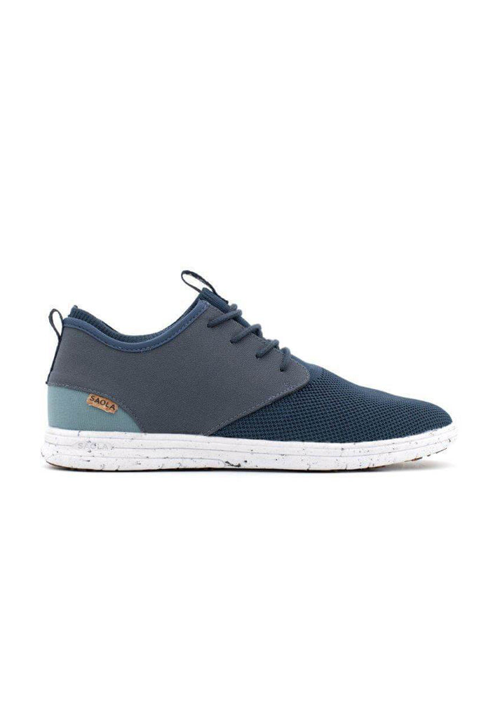 Men Semnoz II Recycled Sneakers in Dark Denim