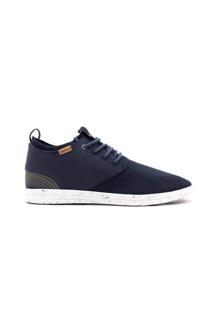 Men Semnoz Recycled Sneakers in Blue Night