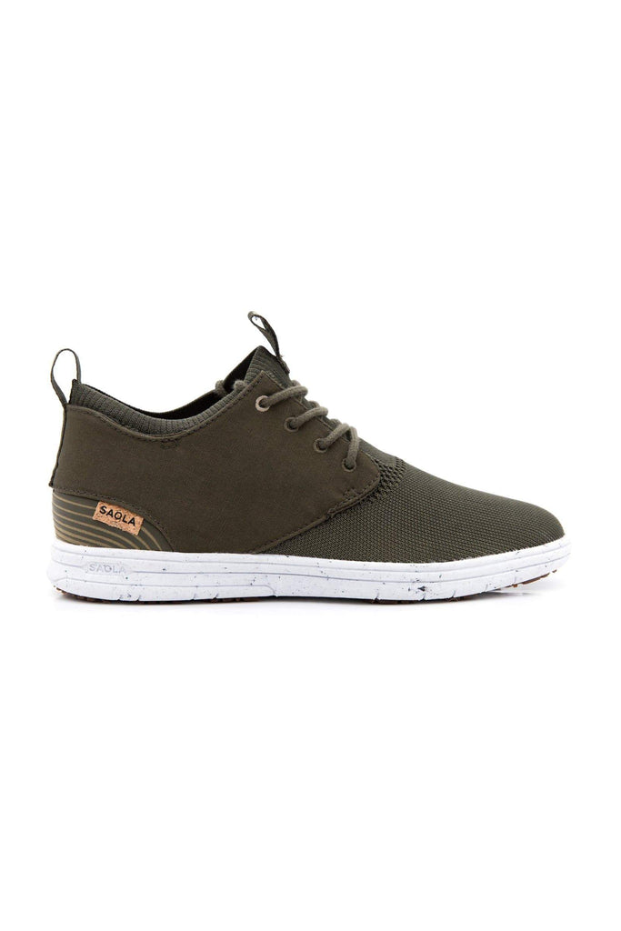 Women Semnoz Recycled Sneakers in Olive Night