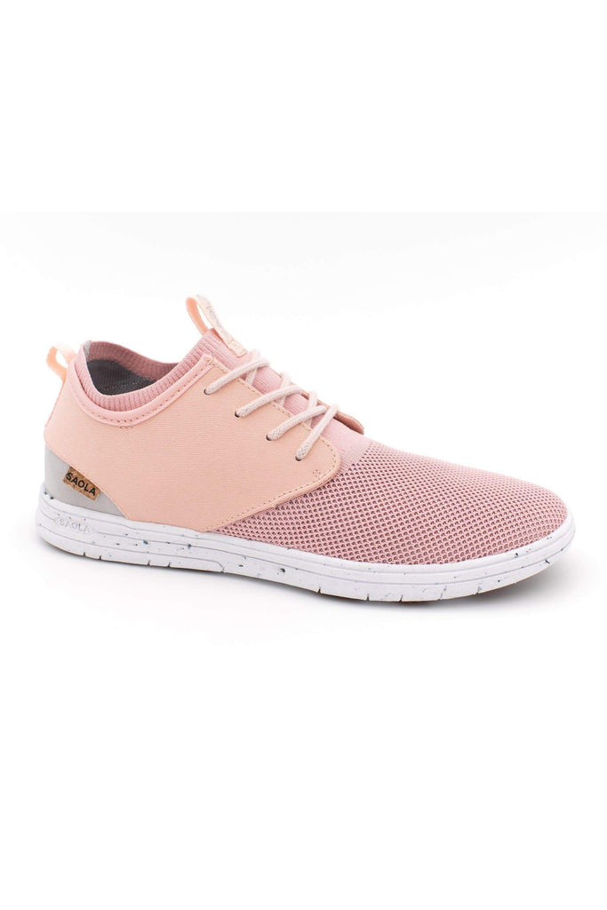 Women Semnoz II Recycled Sneakers in Rose Gold