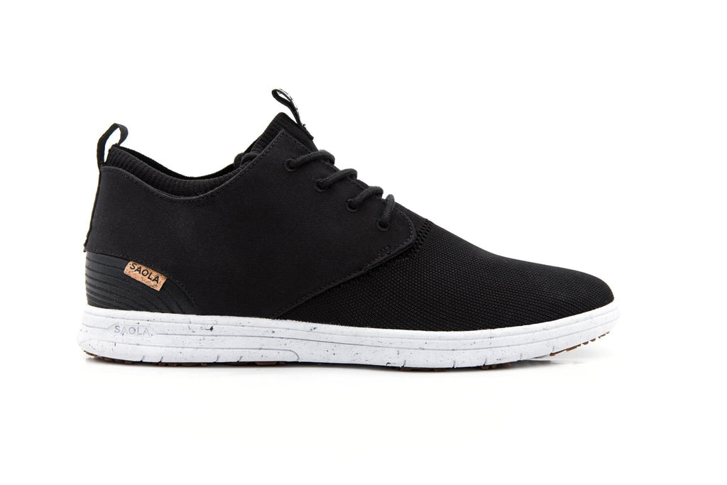 Men Semnoz Recycled Sneakers in Black