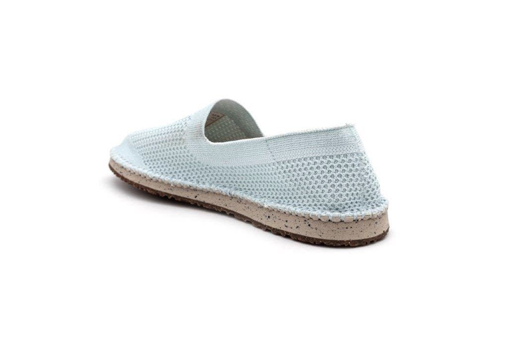Women Sequoia Recycled Flats Shoes in Misty Blue