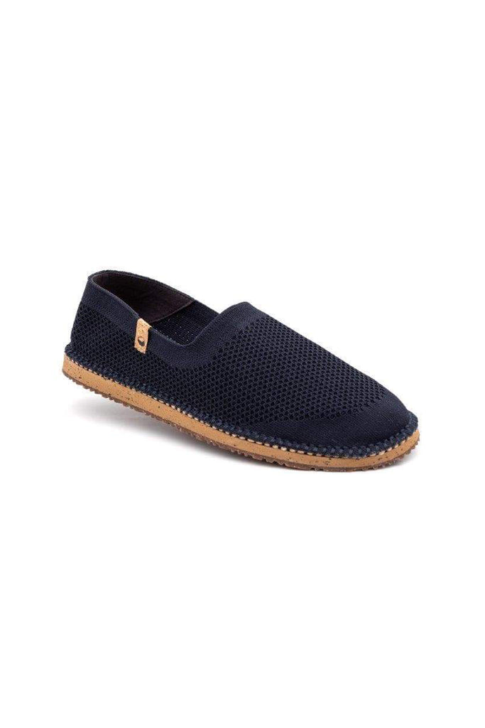 Men Sequoia Recycled Flats Shoes in Navy