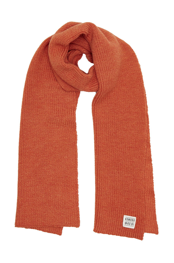 Stanley Biodegradable Merino Wool Scarf in Fire