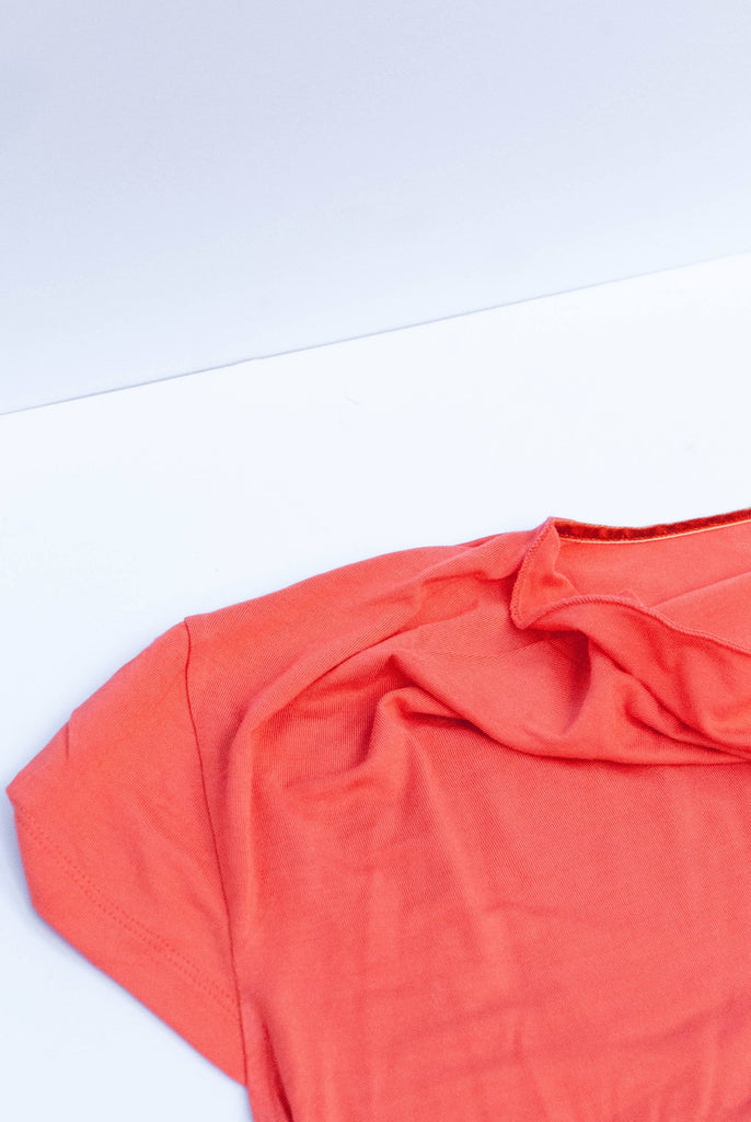 Sensa Vegan Bamboo Top in Coral