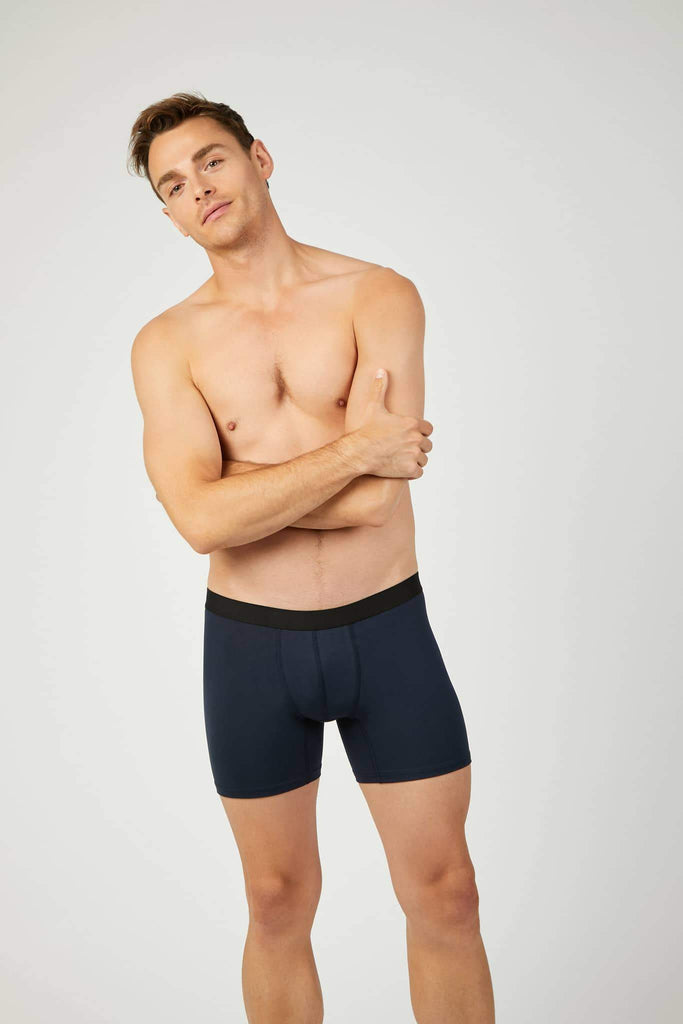 Ethical TENCEL™ Modal Fibres Boxer Briefs in Blue
