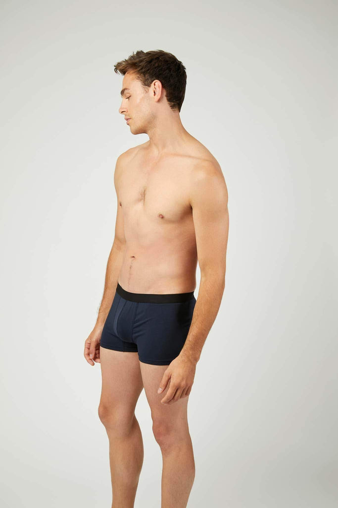 Ethical TENCEL™ Modal Fibres Boxer Trunks in Blue