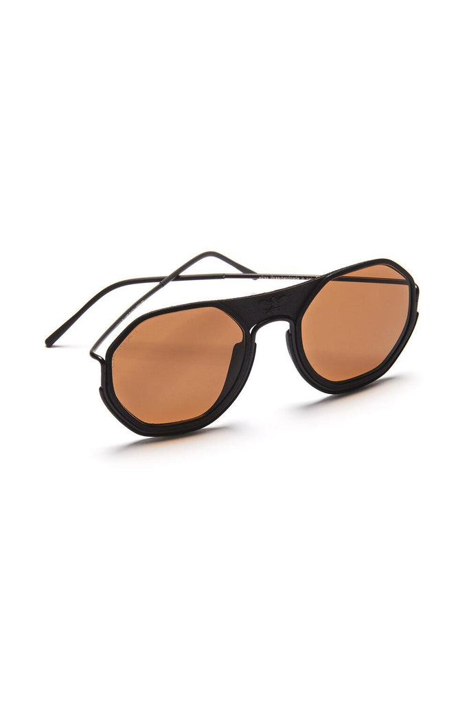 Sting Handmade Sunglasses in Brown & Black