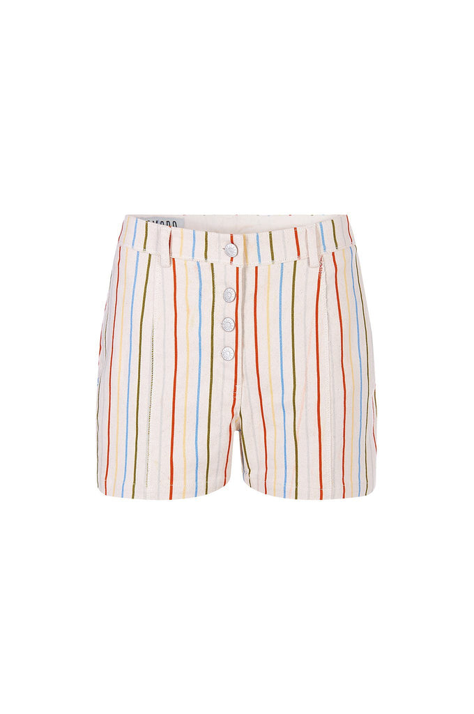 Swingbob Organic Cotton Shorts in Colorful Stripe