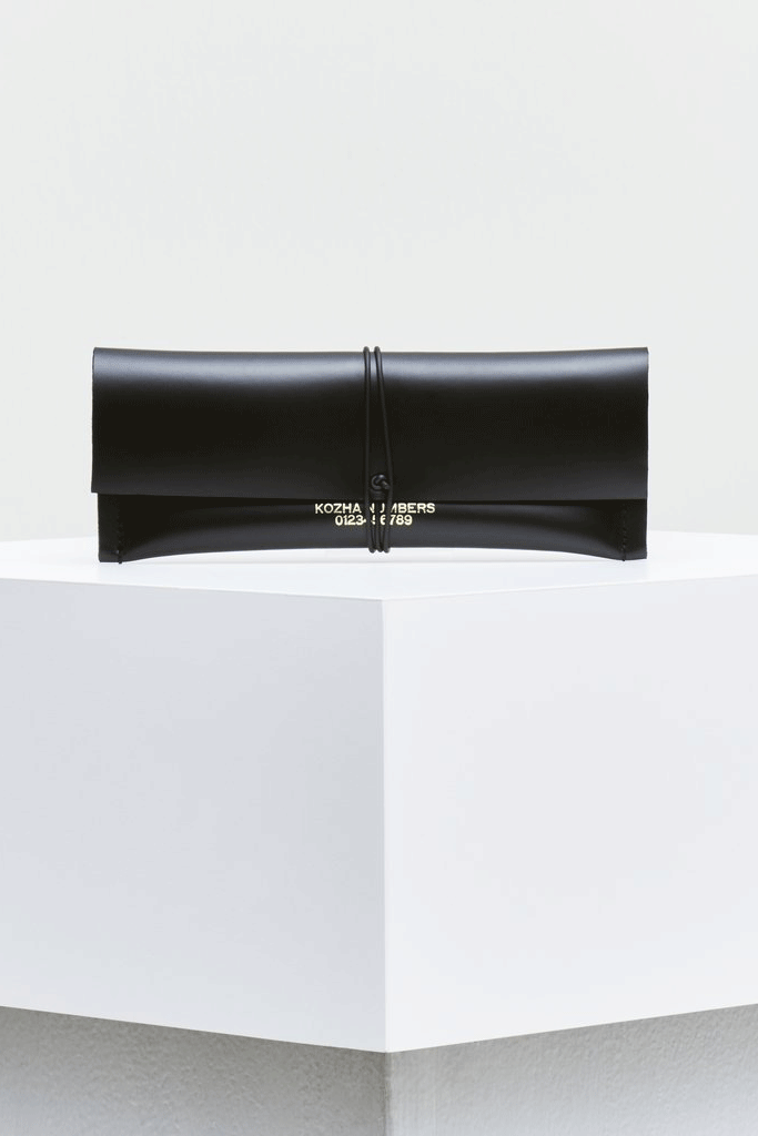 The Cashlet Ethical Leather Purse in Black