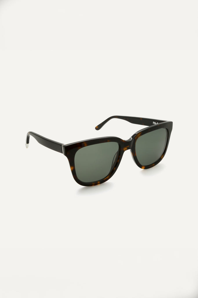 Vrede Havana Ethical & Eco-Friendly Acetate Sunglasses in Brown