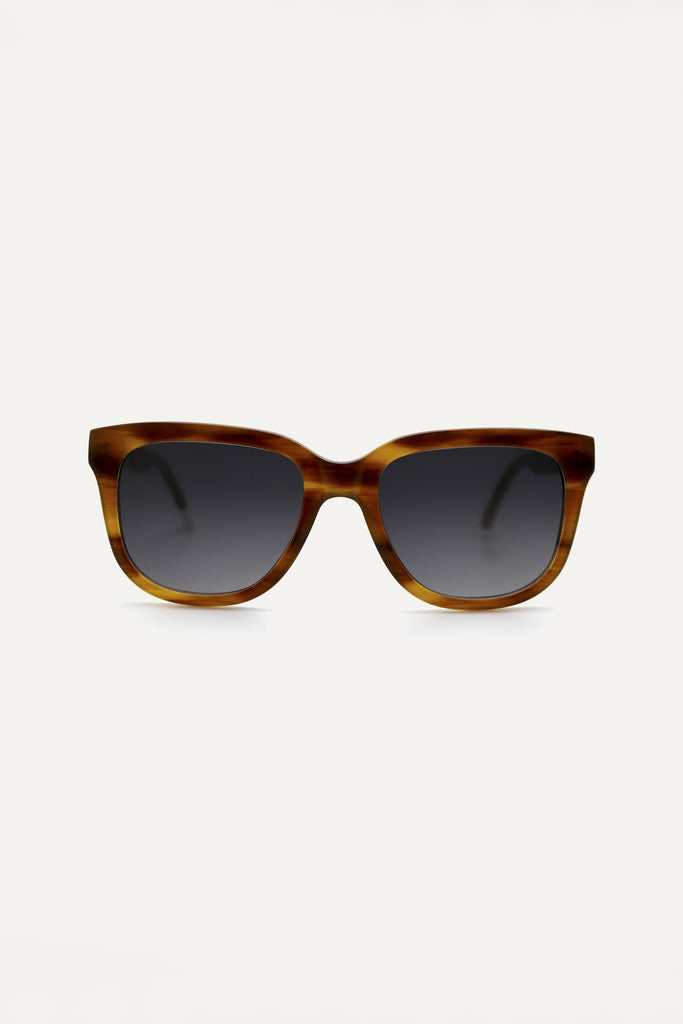Vrede Ethical & Eco-Friendly Acetate Sunglasses in Walnut Brown