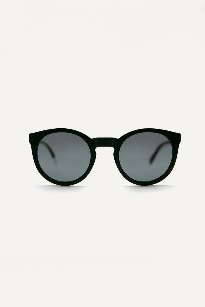 Asha Ethical & Eco-Friendly Acetate Sunglasses in Black