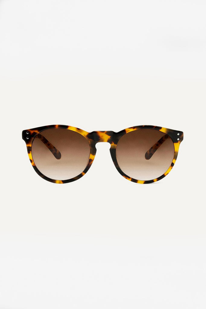 Asha Sunflower Ethical & Eco-Friendly Acetate Sunglasses in Brown