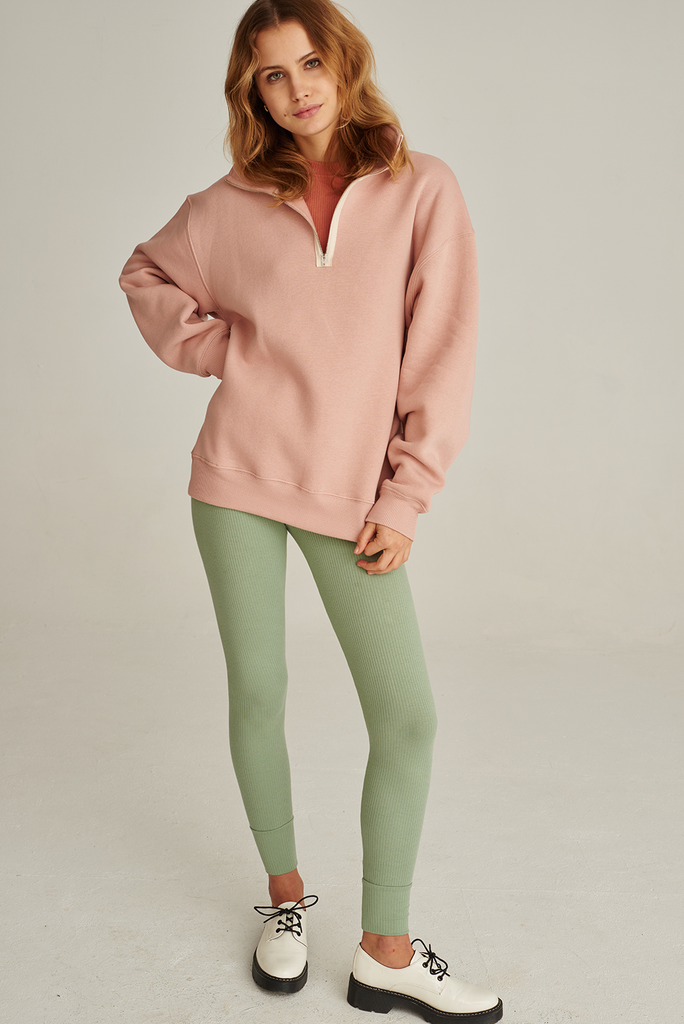 05/15 Organic Cotton Sweatshirt in Rose