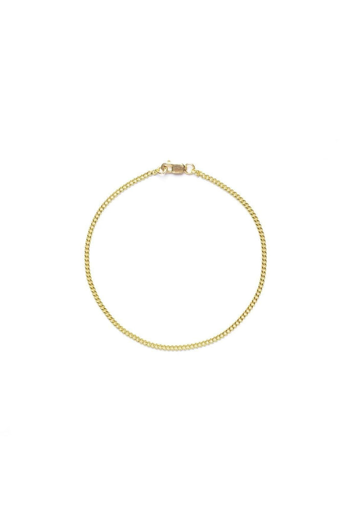 Handmade Fine Bracelet in Gold Double Plated