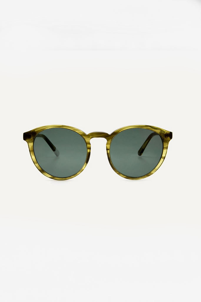 Darya Ethical & Eco-Friendly Acetate Sunglasses in Khaki