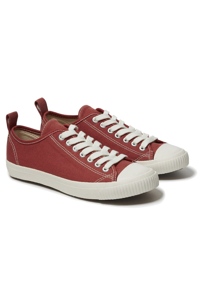 Eco Sneako Vegan Men's Classic Sneakers in Red