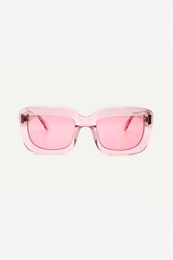 Farai Ethical & Eco-Friendly Acetate Sunglasses in Flamingo Pink