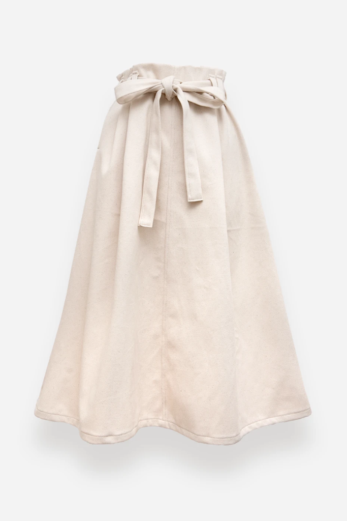 Hakama Handmade Organic Cotton Skirt in Different Colors