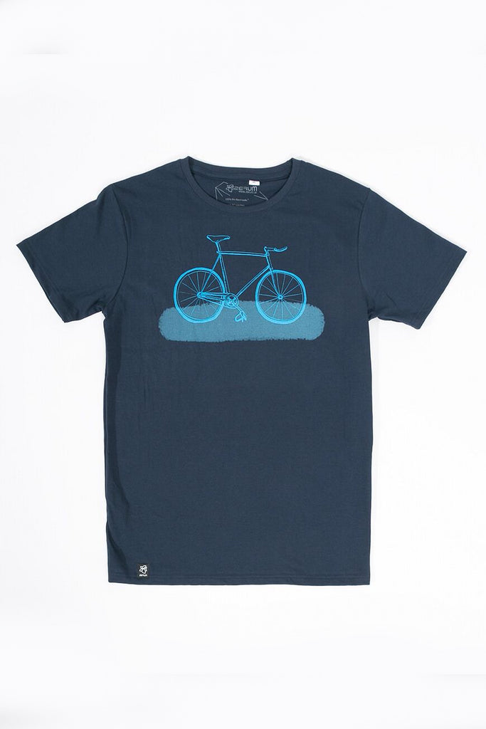 Fixie by Zerum Organic Cotton T-shirt in Blue