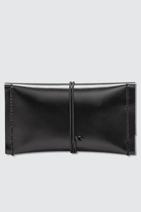 The Sample Cardlet Ethical Leather Purse in Black
