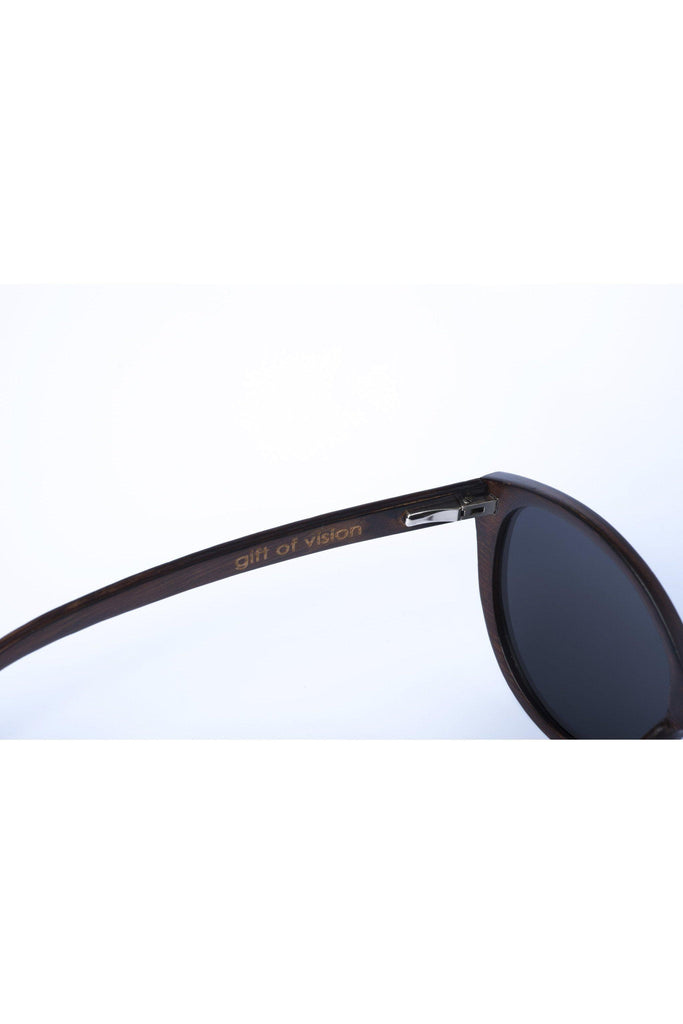 Eco-Friendly Bamboo Ultralight Sunglasses - Joyce Ultralight Brown product image