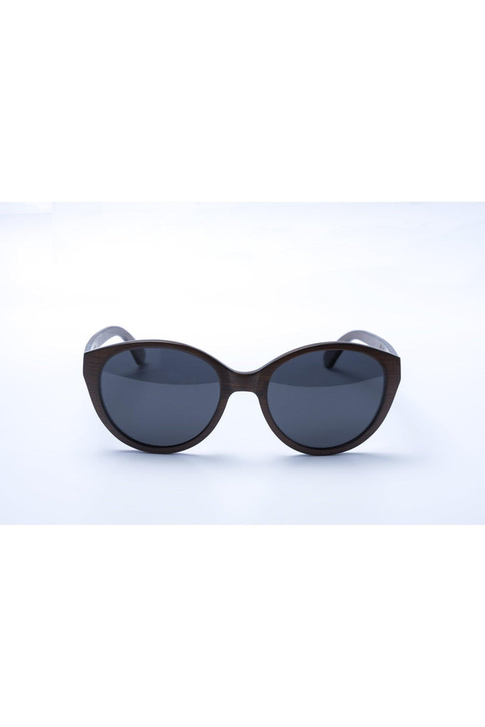 Panda ultra lightweight Joyce bamboo sunglasses - brown