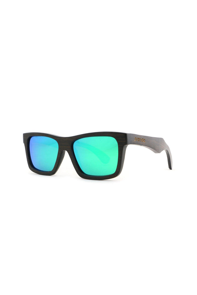 Eco-Friendly Bamboo Sunglasses - Kennedy Brown/Green product image