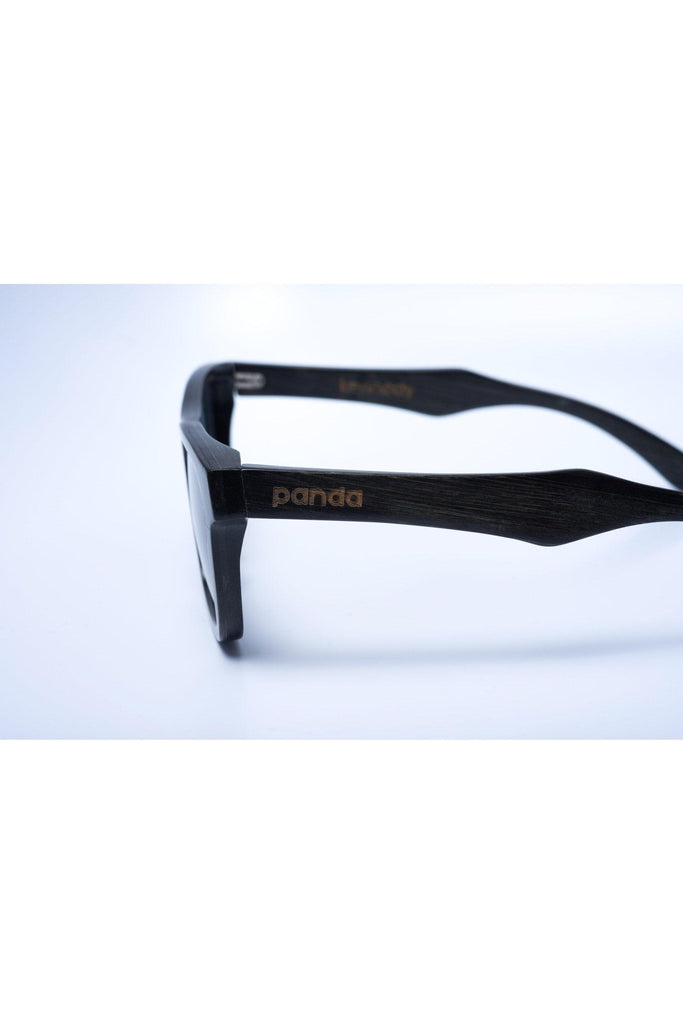 Eco-Friendly Bamboo Sunglasses - Kennedy Black product image