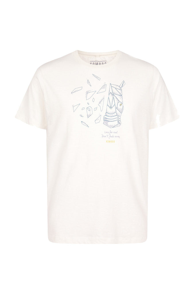 Kin Rhino Organic Cotton T-shirt in White