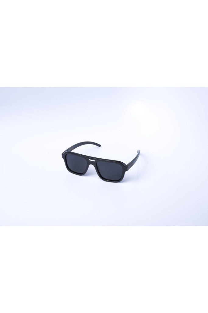 Eco-Friendly Bamboo Sunglasses - Nelson Black product image
