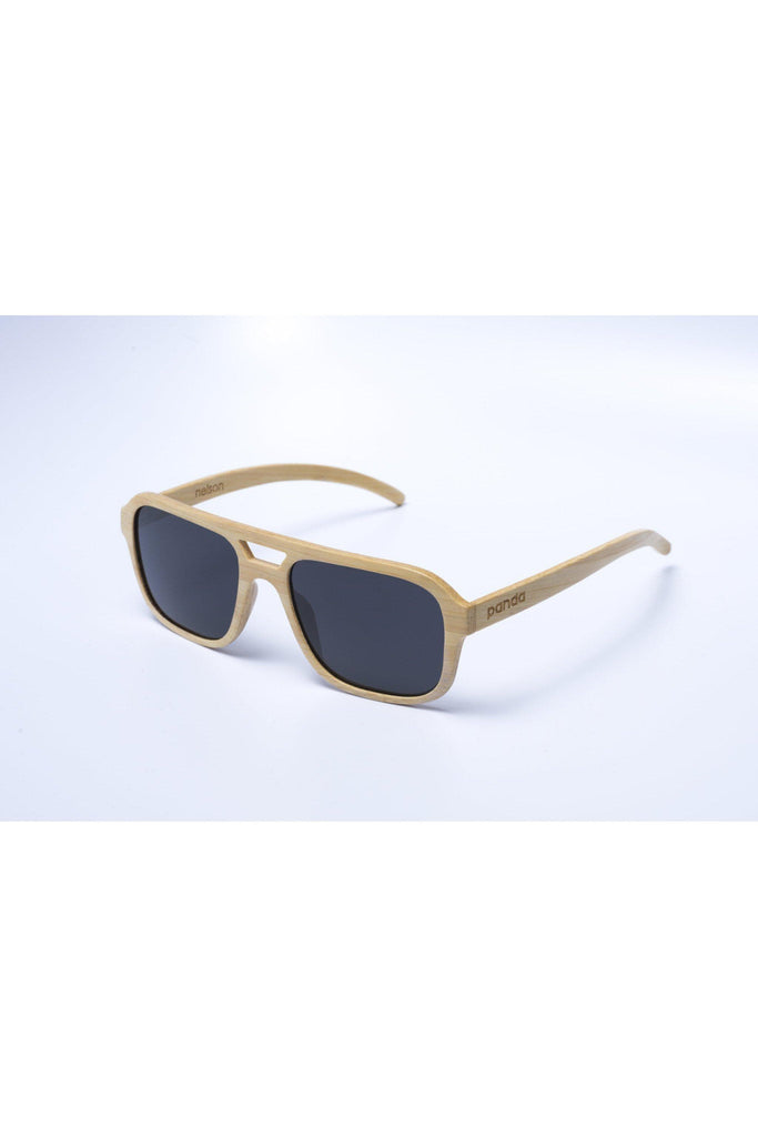 Eco-Friendly Bamboo Ultralight Sunglasses - Nelson Ultralight Natural product image