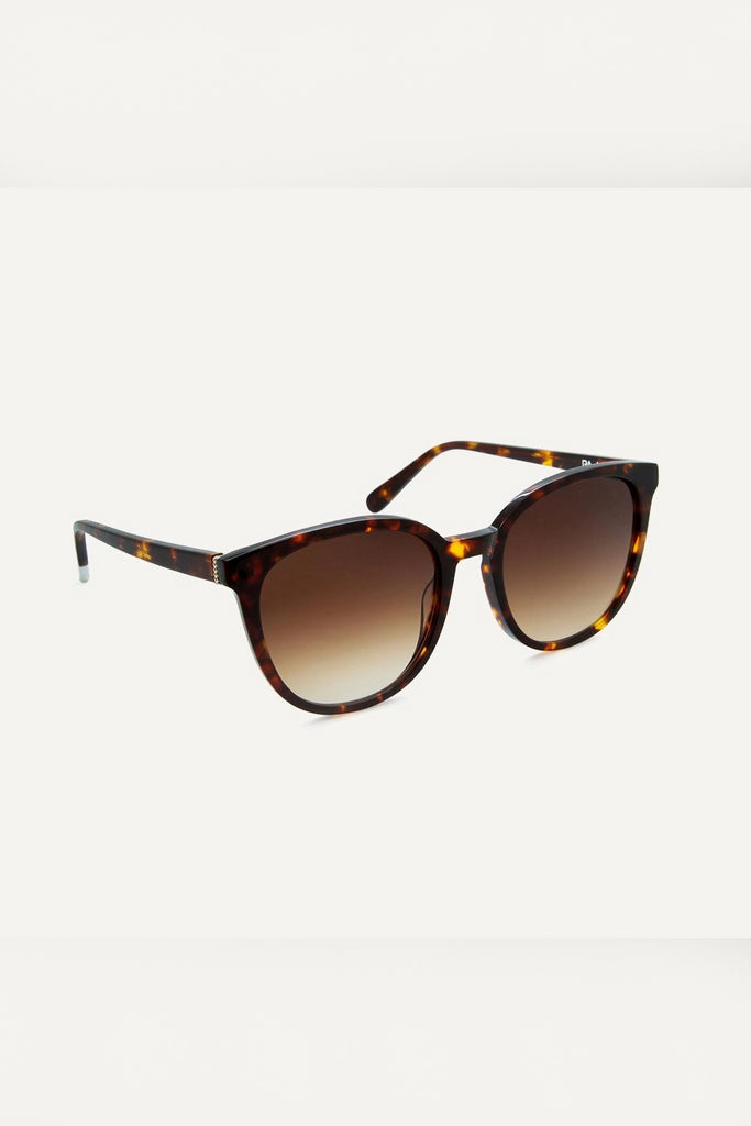 Nkiru Havana Nkiru Ethical & Eco-Friendly Acetate Sunglasses in Brown