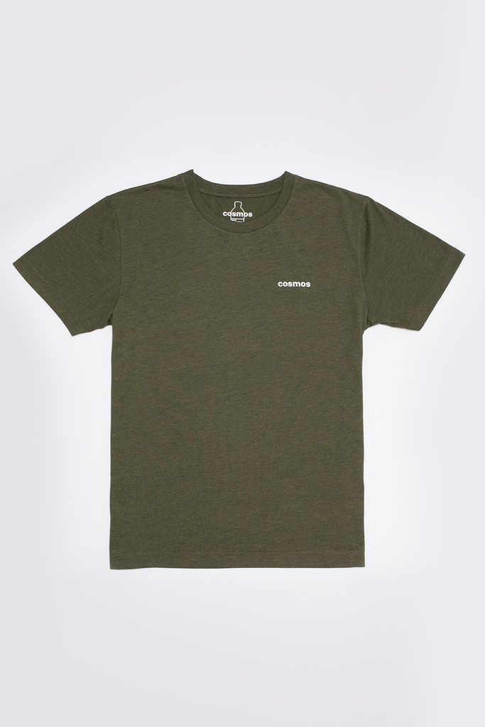 Bottle Tee Ethical Recycled T-shirt in Green